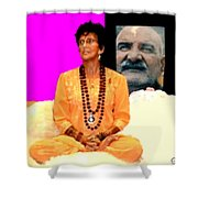Ma Jaya Sati Bhagavati 15 Shower Curtain by Eikoni Images