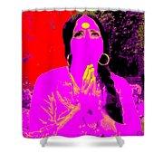 Ma Jaya Sati Bhagavati 16 Shower Curtain by Eikoni Images