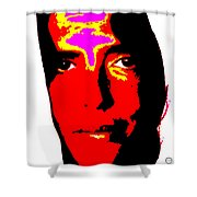 Ma Jaya Sati Bhagavati 2 Shower Curtain by Eikoni Images