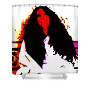 Ma Jaya Sati Bhagavati 3 Shower Curtain by Eikoni Images