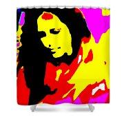 Ma Jaya Sati Bhagavati 5 Shower Curtain by Eikoni Images