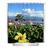 Maalaea Boat Harbor Shower Curtain