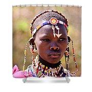 Maasai Beauty Shower Curtain