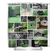Mabry Mill Shower Curtain