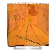 Macaron Lady II Shower Curtain