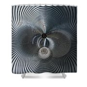 machine Music 4 Shower Curtain