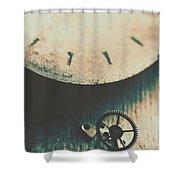 Machine Time Shower Curtain