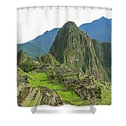 Machu Picchu - Iconic View Shower Curtain