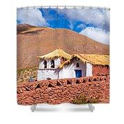 Machuca Church Shower Curtain