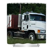 Mack Truck One Of The Legends Shower Curtain