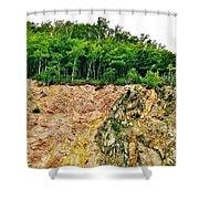 Mackenzie Mountain  Shower Curtain