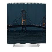 Mackinac Bridge - 1 Shower Curtain
