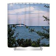 Mackinac Bridge 1 Shower Curtain