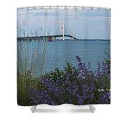 Mackinac Bridge 3 Shower Curtain