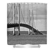 Mackinac Bridge 6111 Shower Curtain
