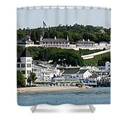 Mackinac Island Shower Curtain