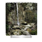 Mackinaw City Park Waterfalls Shower Curtain