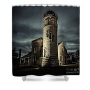Mackinaw Point Lighthouse Shower Curtain