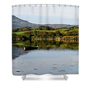 Macleod's Table In Scotland Shower Curtain
