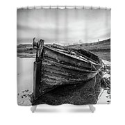 Macnab Bay Old Boat Shower Curtain