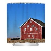 Macomb Barn Shower Curtain