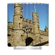 Macroom Castle County Cork Ireland Shower Curtain