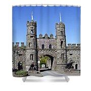 Macroom Castle Ireland Shower Curtain