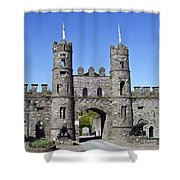 Macroom Castle Ireland Shower Curtain