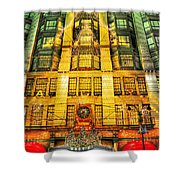 Macy's At Christmas Shower Curtain