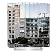 Macy's Union Square San Francisco Building Shower Curtain