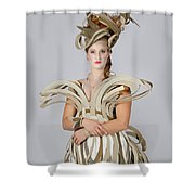 Isabel In Mad Hutter Shower Curtain