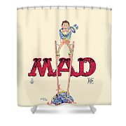 Mad Magazine Cover Shower Curtain