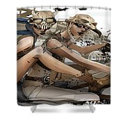 Mad Max Fury Road Shower Curtain