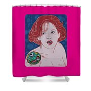 Mad Molly  Original Available Shower Curtain