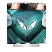 Mad Mouse Shower Curtain