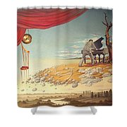 Mad Regal Shower Curtain