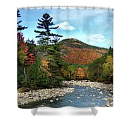 Mad River By Welch And Dickey  Shower Curtain
