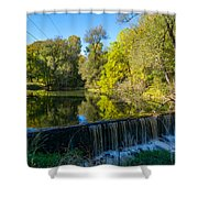 Mad River Waterfall Shower Curtain