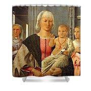 Mad-senigallia Piero Della Francesca Shower Curtain