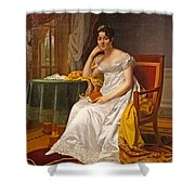 Madame Hurault De Sorbee Shower Curtain