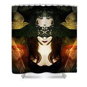 Madame Mayhem Shower Curtain