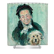 Madame Paul Shower Curtain