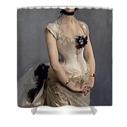 Madame Paul Poirson Shower Curtain