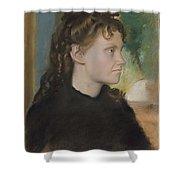 Madame Theodore Gobillard Yves Morisot, 1838-1893 , Edgar Degas French, Paris 1834-1917 Paris Shower Curtain