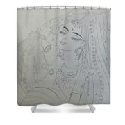 Made For Each Other Shower Curtain