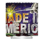 Made In America Shower Curtain