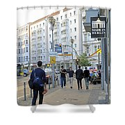 Made In Berlin Shower Curtain