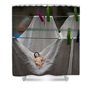 Made In China Baby Jesus Shower Curtain