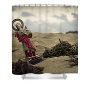 Made In China Saint Pancras Shower Curtain