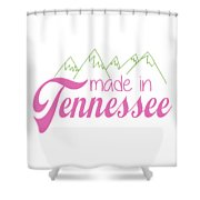 Made In Tennessee Pink Shower Curtain